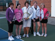 A Few Wakefield Tennis Ladies