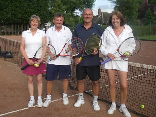 Wakefield Tennis Club Division 3 champions 2011