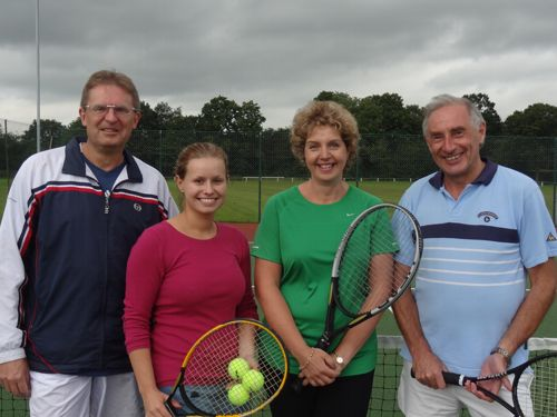 Wakefield Tennis Club Mixed A Team July 2012